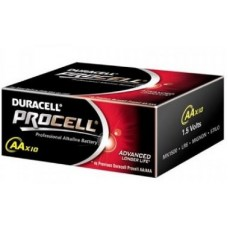 Duracell Procell AA Batteries Box of 10 Bulk Pack 1.5V Alkaline Battery