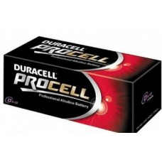 Duracell Procell D Batteries Box of 10 Bulk Pack Alkaline Battery