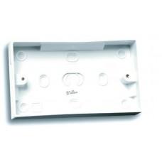 Selectric LG8828-25 2 Gang 25mm Pattress Back Box White