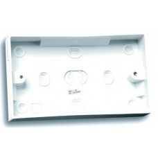 Selectric LG8828-47 2 Gang 47mm Pattress Back Box White