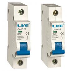 Live Electrical MCBs Type B 6KA
