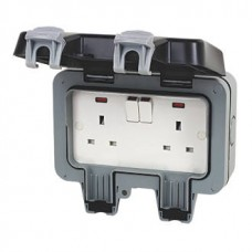 BG Outdoor Weatherproof Sockets