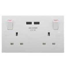 USB Double Socket BG 922